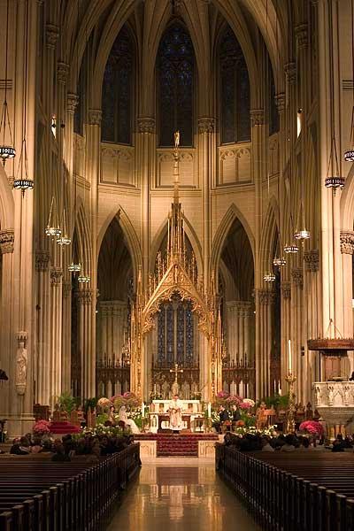 Saint Patricks Cathedral, New York City