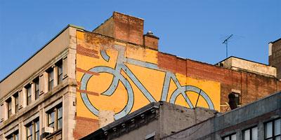 Bike, Wall