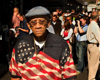 Flag Shirt Man